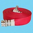 Focored fire hose